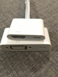 Adaptor Lightning to VGA si HDMI, pentru conectare dispozitive Apple