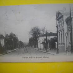 HOPCT 135 B  GALATI STRADA MIHAI BRAVU IN 1914 -CIRCULATA