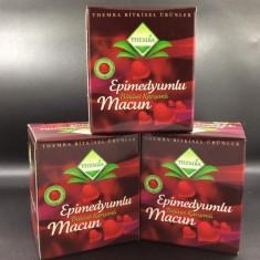 Set 3 cutii Macun - Afrodisiac 100% Natural pentru El si Ea 30 portii / borcan