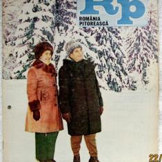 Romania Pitoreasca aniversara Ceausescu si harta turistica nr.9- ian.1984