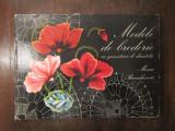 MODELE DE BRODERIE CU GARNITURI DE DANTELA -MARIA PARASCHIVOIU