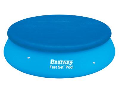 Prelata Bestway pentru acoperire piscina, forma rotunda, diametru 305cm foto