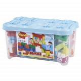 Set Ecoiffier 100 de Cuburi pentru Construit Abrick Maxi