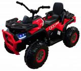 Cumpara ieftin ATV electric 4x4 Premier Desert, 12V, roti cauciuc EVA, MP3, rosu