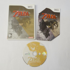 Joc Nintendo Wii - Zelda Twilight Princess, Actiune, 12+, Single player