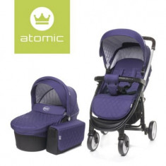 Carucior 4Baby ATOMIC 2 in 1 Purple