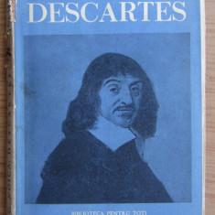 Constantin Noica - Viata si filosofia lui Rene Descartes (1937) prima editie