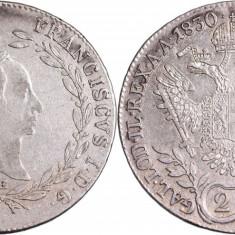 1830 - E - 20 kreuzer - Francis II - Imperiul Austriac