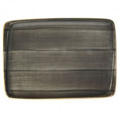 Platou dreptunghiular din portelan, 23x16cm, Bonna-Space, 010172