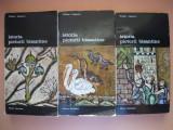 VIKTOR LAZAREV - ISTORIA PICTURII BIZANTINE - 3 volume, meridiane 1980
