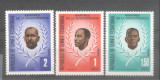 Equatorial Guinea 1979 Independence fighters Mi.1603-05 MNH A.062, Nestampilat