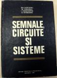 SEMNALE,CIRCUITE SI SISTEME,BUCURESTI 1980-GH.CARTIANU