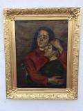 Tablou Stefan Luchian Expertizat si evalut la 30 mii de Euro, Portrete, Ulei, Impresionism