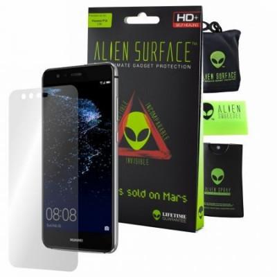 Folie Alien Surface HD, Huawei P10 Lite, protectie ecran + Alien Fiber cadou foto