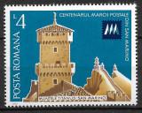 România - 1977 - LP 941 - Centenarul Mărcii Poștale Marino - serie completă MNH, Nestampilat