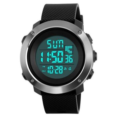 Ceas Barbatesc SKMEI CS879, curea silicon, digital watch, functie cronometru, alarma foto