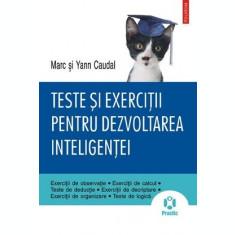 Teste și exerciții pentru dezvoltarea inteligenței