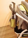 Cărucior gemeni Kerttu Duetto gri/ verde