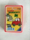 Joc de carti pentru copii Cvartet cu imagini dragute, Ravensburger