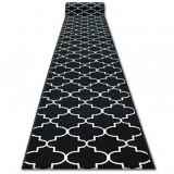 Traversa BCF Base 3770 negru marocani Trellis, 70 cm, Dreptunghi, Polipropilena