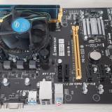 KIT PLACA DE BAZA BIOSTAR H81-A REV 6.1 SOCKET 1150+CPU+4 GB DDR3, CU GARANTIE!, Pentru INTEL, LGA 1150, DDR 3, Asrock