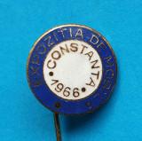 Insigna veche anu 1966 Expozitia de Mobila Constanta - piesa RARA !!!