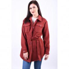Palton Vero Moda Cala Utility 3/4 Madder Brown