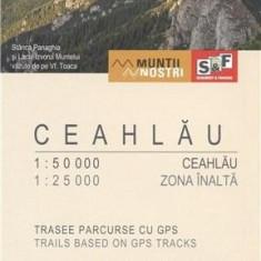Harta Drumetie - Ceahlau |