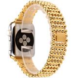 Cumpara ieftin Curea pentru Apple Watch Gold Luxury iUni 44 mm Otel Inoxidabil