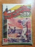 Carte pentru copii anii '90 -aventurile submarinului dox,nr 19