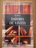 Datoria De A Ezita - B. Elvin ,294988