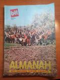 Almanah BTT martie 1989-art .si foto jud. galati,tecuci,valea jiului,busteni