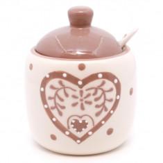 Heart zaharnita ceramica 11 cm