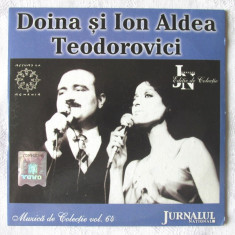 CD - DOINA SI ION ALDEA TEODOROVICI - Muzica de colectie Vol. 64. Nou