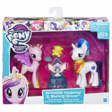 Set Figurine My Little Pony Sweet Celebration, Princess Cadance si Shining Armor