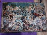Carpeta perete scena medievala specific arab calitate buna