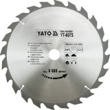 Disc fierastrau circular pt. lemn 300 x 24 x 30 Yato YT-6075