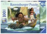Cumpara ieftin Puzzle Vaiana, 100 Piese, Ravensburger