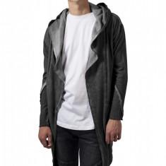 Cardigan cold dye hooded - gri inchis Urban Classics XXL EU