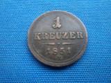 1 KREUZER 1851/ E AUSTRIA -ALBA IULIA, Europa