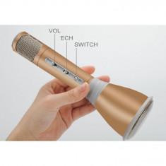 Microfon Karaoke + Difuzor - Bluetooth 3.0, Efecte Karaoke KTV