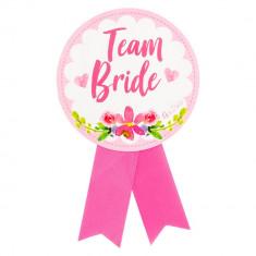 """Insigna pentru domnisoare de onoare """"Team Bride"""" - ca. 13 cm, Radar 41390"""