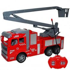 Jucarie masina de pompieri cu telecomanda
