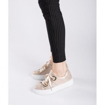 Sneakers dama 39 Auriu foto