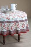 Fata masa rotunda eleganta rosie Bastide Rouge diam 180 cm