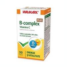 B Complex + Vitamina C Plus Walmark 30tb Cod: walm00470