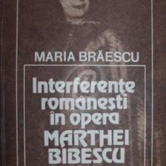 Interferente romanesti in opera Marthei Bibescu, 1983