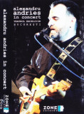 Caseta audio: Alexandru Andries - In concert ( 1997, originala, stare f.buna ), Casete audio