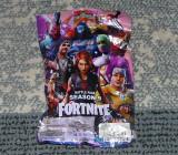 Figurine Fortnite sezonul 9,in plic surpriza, 11 cm,am si brelocuri de metal