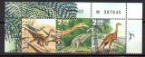 ISRAEL 2000, Faună, Animale preistorice, Dinozauri, serie neuzată, MNH, Fauna, Nestampilat
